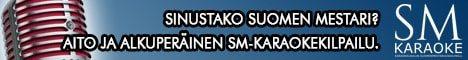 SM-Karaoke 2015 - Suomen legendaarisin karaokelaulukilpailu